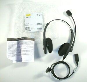 Jabra GN VXi Passport 21V Duo Noise-Canceling Corded Headset 202768 R-202768