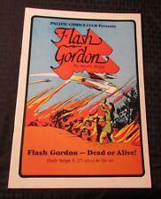 1984 FLASH GORDON Dead or Alive #1 Pacific Comics Club VF- 7.5 Austin Briggs