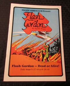 1984 FLASH GORDON Dead or Alive #1 Pacific Comics Club VF- 7.5 Austin Briggs