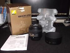 Nikon 50mm F1.8 AF-S G ultime LENS!! - Nikon pellicola che digitale adatta, Mint in box!!!