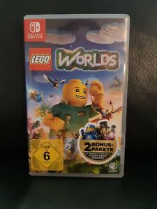 Spiel für Nintendo Switch Lego Worlds, super Zustand