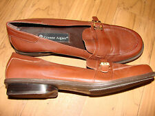 WOMENS SHOES Brown Flats w/ buckle ETIENNE AIGNER 7 1/2