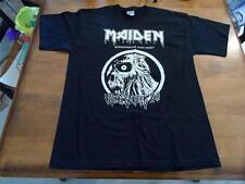 Iron Maiden 2011 Birmingham pre show meet up shirt size large NEW
