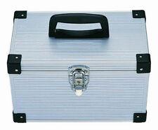 1 x 300 DJ Aluminium CD DVD Blu Ray Disc Storage Flight Carry Case Box Silver