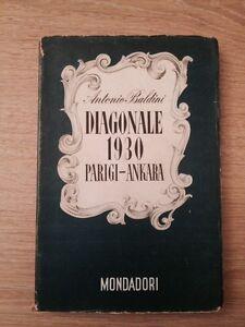 DIAGONALE 1930 - A. Baldini - Lo Specchio 1943 1a EDIZIONE
