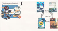 1981 Yachting in Australia FDC - Mawson ACT 2607 PMK