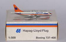 Schabak boeing 737-4k5 Hapag Lloyd in 1:500 SCALA