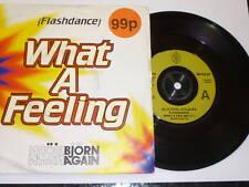 "BJORN AGAIN - Flashdance - Deleted 1993 UK 2-track 7"""