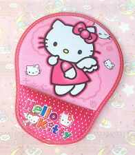 Pink Colour Lovely Mouse Pad  w Hello Kitty~Z