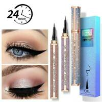 QIC Long Lasting Liquid Eyeliner Pencil Waterproof 4D Eye Liner Pen Cosmetics