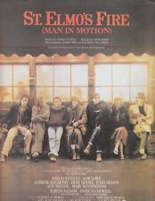 Man in Motion from St. Elmo's Fire-John Parr - 1985 Sheet Music