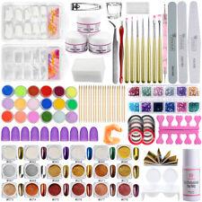 Complete Acrylic Nail Kit Acrylic Liquid Powders 36 Colors Nail Powders Nail Bru