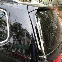 2X Glanz Schwarz Hinten Spoiler Leisten Fenster ABS für VW Touran II 5T