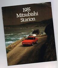 1985 Mitsubishi Starion Catálogo/ CATALOG: LS, LE, ES, Turbo