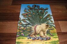 Hans de Beer / Burny Bos -- OLLI, der KLEINE ELEFANT // Großformat Nord-Süd 1994