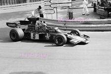 Ronnie Peterson JPS Lotus 72E Spanish Grand Prix 1975 Photograph 3