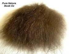 MUSK OX BODY HAIR / MOSCHUS OCHSE - 8x9 cm - NATURAL - (Preis p. m2 - € 818,92)