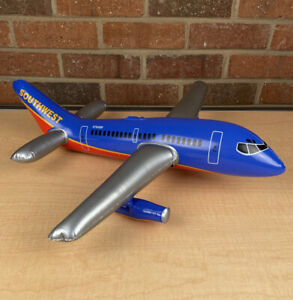 Promotional Southwest Airlines Inflatable Plane Promo Giveaway Toy 16 Inch