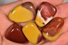 5 MOOKAITE TUMBLED STONES 57g Healing Crystals, Calm Versatility Strength
