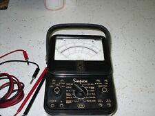 Vintage Simpson 270 Series 2 Volt Ohm Milliammeter With Probes
