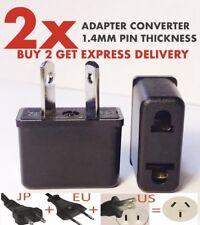 USA EU Euro Asia to AU Aus Aust Australian Power Plugs Travel Adapter