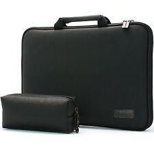 "Microsoft Surface Pro 4 12.3"" Laptop Case Sleeve Cover Memory Foam Bag Black i"