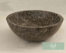Stone Bathroom basin by Vivid Stone 40cm Diameter 15cm High KCP-G