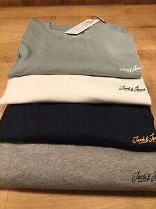 Jack & Jones Tristan t shirt (regular fit) (4 colours) S- XXL