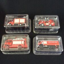 More details for x4 del prado diecast fire engine models ~ all boxed & unopened