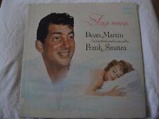 Dean Martin & Frank Sinatra Sleep Warm Vinilo LP 1959 Capitol Records Mono VG+