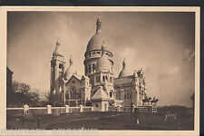 France Postcard - Paris - The Whole of The Sacred Heart Basilica  A9360