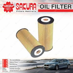 Sakura Oil Filter for Volkswagen BEETLE 9C BORA Caddy Golf MkIV LT 28 35 46 45