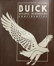 1980 Buick Advance Color and Upholstery Dealer Album Showroom Book all models