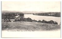 Early 1900s Connecticut River, near Smiths Ferry, MA Postcard
