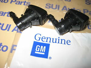 Chevy GMC Buick Traverse Acadia Enclave Winshield Washer Squirter Nozzles OEM