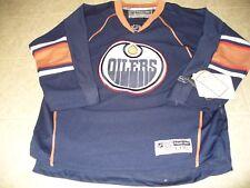 Edmonton Oilers NHL Reebok Size youth 4/7  navy blue boy's long sleeve jersey