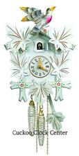 Cuckoo Clock 1-day-movement Carved-Style 30cm Black Forest By Hubert Herr