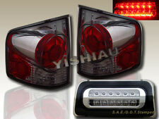 94-98-04 S10 S-10 SONOMA TRUCK TAIL LIGHTS 3D STYLE SMOKE + 3RD BRAKE LIGHT