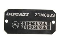 Panneau type pour Ducati 888 Strada,888 SP4,888 SP5,888 Spo