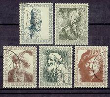 Niederlande o  MiNr 672 - 676 Rembrandt