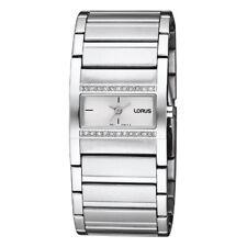 Lorus by SEIKO Damenuhr Uhr Armbanduhr Mineralglas Steinbesetzt Wasserdicht 3ATM