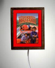 Dukes Of Hazzard General Lee Car Luke Bo Daisy TV Show Retro Light Lighted Sign