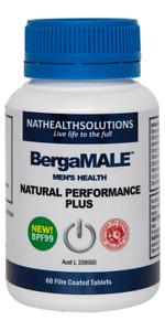 BergaMale Berga Male 60 tablets :: Natural Performance Plus :: Bergamot