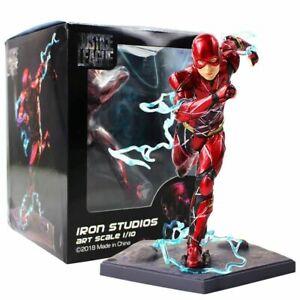 1/10 Justice League The Flash Iron Studios Artfx Collectible Action Figures