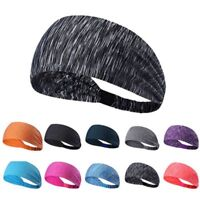 Women Cotton Knotted Turban Head Warp Hair Band Elastic Wide Headband Sport Yoga