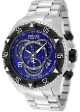 Invicta 1882 Reserve Excursion Touring Chronograph SS Blue Dial Men's Watch