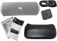 JBL Flip 2 Portable Wireless Bluetooth Stereo Speaker NFC Harman Kardon White