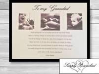 Personalised Grandad Gifts Christmas Birthday Granda Grandpa Gift Personalised