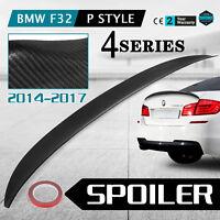 Carbon Fiber Trunk Boot Lip Spoiler For BMW F16 X6 F86 X6M AF-0436