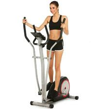 Magnetic Control Mute Elliptical Trainer with LCD Monitor Home Office 679